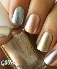 Essie Metallics Collection WANT