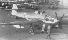 The Blohm Voss BV 155 was a German high-altitude interceptor aircraft intended to be used by the Luftwaffe against raids by USAAF B-29 Superfortresses. Work started on the design in 1942, but the design went through a protracted development period and was still under construction when World War II ended.
