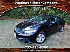 Used 2013 Honda Civic for Sale in Virginia Beach VA 23454 Lynnhaven Motor Company