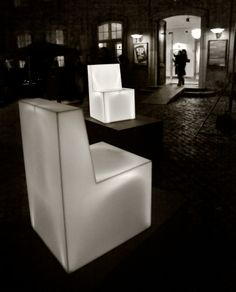 Hi-Macs® for the Light Block Chair by Christian Flindt @Hi-MACS Natural Acrylic Stone