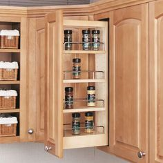 Pull Out Spice Rack Pantry Wall Ikea Wall Cabinets
