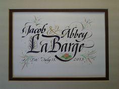 Trish Taylor Calligraphy