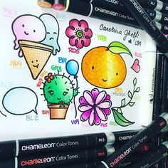 Gorgeous page by @ using their Chameleon Pens! #chameleonpens #pen #marker #alcoholmarkers #markerpen #colour #color #colouring #coloring #draw #drawing #art #artwork #create
