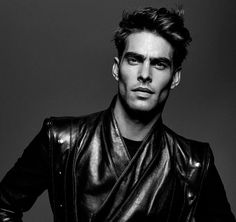 Jon Kortajarena fronts the Spring/Summer 2017 campaign of Balmain Hair Couture, shot by Jean-Baptiste Mondino.