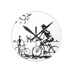 Don Quijote y Sancho en bici