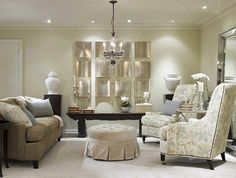 Classic Chic Home:  Ultra Glam and Gorgeous Living Rooms