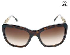 The Chanel Wayfarer Women's Sunglasses (Brown & Yellow) is available here at the best price in online shopping and, just like every product we sell, is a 100% genuine product. It has the following specifications:  Brand: Chanel  Style: Wayfarer  Frame Color: Black Lens Color: Brown Frame Material: Plastic Lens Technology: Gradient Colour: Brown & Yellow Quantity: 1