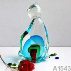 All of our glass crafts are true hand blown. They are different from the other glass crafts which are made by machine. Our glass crafts are handicraft in its true sense. Our products are international certified, they are controled in the standard quality field. Now we have some stocks to sell,and the real products will look exactly the same as photos. $181.50