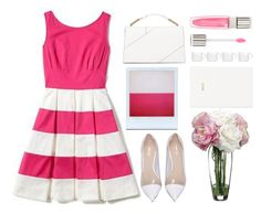 """""""Peony n Pink"""" by emcf3548 ❤ liked on Polyvore featuring Gucci, Kate Spade, BergHOFF, Allstate Floral, Holga, Jason Wu, H&M and Lancôme"""