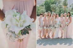 This Elegant Palm Springs Wedding Nailed Desert-Chic #refinery29