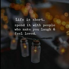 Life is short. Spend it with people who make you laugh. Life is short. Spend it with people who make you laugh. The post Life is short. Spend it with people who make you laugh. appeared first on DIY Fashion Pictures. Happy Quotes, True Quotes, Great Quotes, Words Quotes, Positive Quotes, Motivational Quotes, Inspirational Quotes, People Quotes, Quotes Quotes