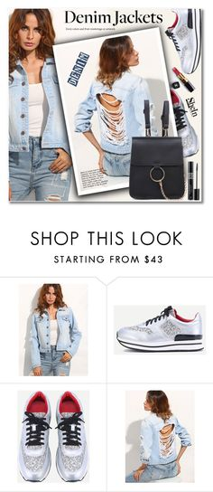 """""""Denim trend: Jean Jackets"""" by svijetlana ❤ liked on Polyvore featuring Chanel, Christian Dior and jeansjackets"""
