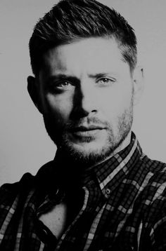 "justjensenanddean: "" Jensen Ackles | Asylum Con 2015 and 2016 Portraits """