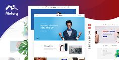 Melory - Modern Fashion WooCommerce Theme Melory is a flexible WordPress theme for online stores, suitable for different kinds of product especially fashion, clothing, accessories etc. Besides that, this exquisite and intuitive theme is c. Wordpress Template, Css Website Templates, Corporate Id, Simple Website, Online Shops, Fashion Themes, Premium Wordpress Themes, Modern Fashion, Ecommerce Websites