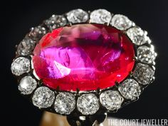 Queen Marie-Jose's Ruby Ring (Photo:FABRICE COFFRINI/AFP/Getty Images)     Lots of royals have ruby rings in their jewelry collections , ...