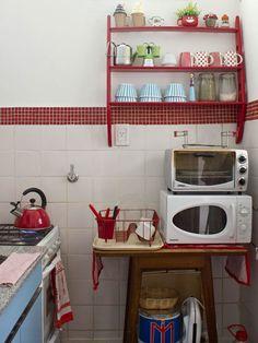 Casinha colorida: Rapidinha décor: Casa Chaucha