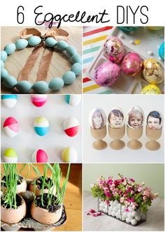 Super cute Easter ideas from bloggers, click to find sources & instructions and lots more fun ideas for spring and Easter!