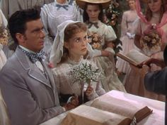 John Brooke (Richard Wylie) and Meg March (Janet Leigh) Little Women Brooke Richards, Mr March, Janet Leigh, Movie Info, Tony Curtis, Louisa May Alcott, Woman Movie, Gene Kelly, Myrna Loy