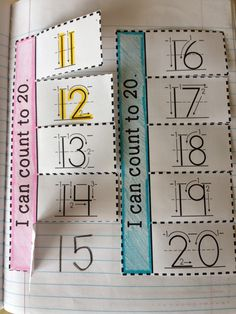 The Therapeutic Teacher: Kinder Interactive Math Journals Interactive Notebooks Kindergarten, Preschool Journals, Interactive Journals, Math Notebooks, In Kindergarten, Maths Journals, Math Work, Math Numbers, Teen Numbers