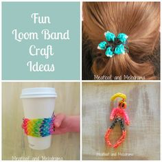 Meatloaf and Melodrama: Easy Loom Band Craft Ideas