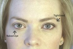 How to Tightline Eyes + Quick Eyeshadow Tutorial