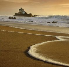 The Island Photo by Jose Melim -- National Geographic Your Shot /A litle church on a rock by the sea. When the sea is rough it happens the water going all around the rock and it looks like an Island. Sr. da Pedra Chapel, at Miramar, Vila Nova de Gaia, Portugal.