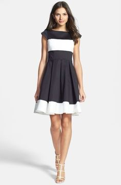 NWT-Kate-Spade-New-York-Adette-Colorblock-Dress-Small-6-S-Gorgeous-398