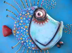 Too Blue Bluegill, Original Found Object Wall Sculpture, Wood Carving, Wall… Source by arualjay Fish Wall Art, Fish Art, Fish Sculpture, Wall Sculptures, Clay Fish, Wood Fish, Wall Decor Design, Paperclay, Wood Art