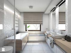 Dom jednorodzinny 7 - Łazienka, styl nowoczesny - zdjęcie od BAGUA Pracownia Architektury Wnętrz