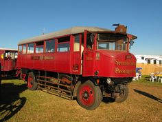 1932 Sentinel  DG4 passenger bus at Dorset Steam Fair 2016