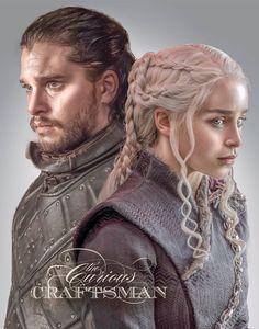 Marybeth Cire Doughty GoT Daenerys Targaryen & Jon Snow Daenerys Targaryen, Jon Snow And Daenerys, Khaleesi, Game Of Thrones Artwork, Hbo Game Of Thrones, Maester Luwin, Game Of Thones, Hallowen Costume, Halloween