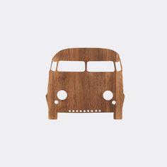 Car Lamp - Smoked Oak