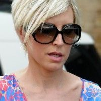 Modern Stylish Short Haircut for Summer 2014: Blonde Pixie Cut - Heather Mills Hairstyles