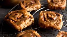 Butterscotch-Glazed Cinnamon Rolls by Melissa Clark