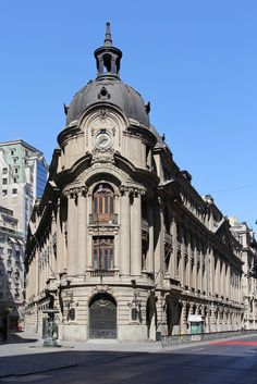 Santiago Stock Exchange -- CHILE. Edificio La Bolsa, Santiago de Chile.