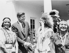 """Our treatment of Indians...still affects the national consciousness... It seems a basic requirement to study the history of Indian people. Only through this study can we as a nation do what must be done if our treatment of the American Indian is not to be marked down for all time as a national disgrace."" -John F. Kennedy"