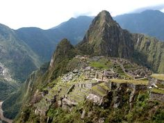 Machu Pichu- After learning about it in Spanish 4 last year it went on my list of places I wish I could see