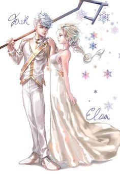 Jack and Elsa ❤️