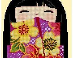 Kokeshi Girl Doll 6 - MiYuKi