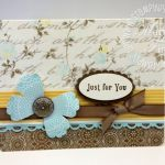 Stampin' Up! Blossom Punch Butterfly WOW! Video
