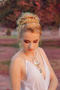 Roman hairstyle (Hair By Myo Lai)