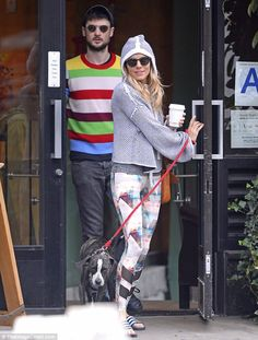 Sienna Miller enjoys a friendly outing with her ex Tom Sturridge Sienna Miller, Baby Strollers, Fashion Beauty, Toms, Nyc, Actresses, Caffeine, Flat Sandals, Mail Online