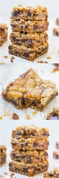 Carmelitas - For the serious caramel lover, these soft and chewy bars are stuffed with chocolate and just dripping with caramel! Easy one-bowl, no-mixer recipe!