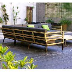 Patio by Jamie Durie Fremantle Modular Corner Chair | Sofa ...
