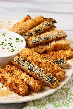 Crispy baked zucchini fries - Miss-Recipe.com