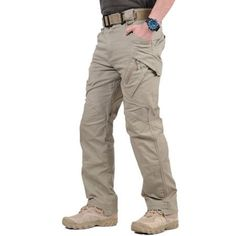 Tactical Cargo Pants Men Combat Pants Cotton Pockets Stretch Paintball Militar Casual Trousers