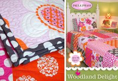 S4H Hearts Paula Prass' Woodland Delight Quilt