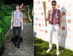Mark Ronson In Jil Sander – London 2012 Olympic Torch Relay Finale Concert