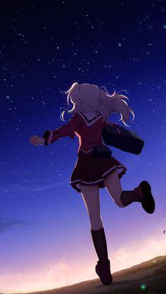 Anime / Charlotte (1080x1920) Mobile Wallpaper