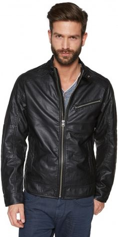 8a8d358482 TOM TAILOR April 2015 fashionable fake leather jacket